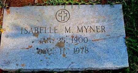 MYNER, ISABELLE M - Caddo County, Louisiana   ISABELLE M MYNER - Louisiana Gravestone Photos