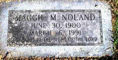 MALONE NOLAND, MAGGIE - Caddo County, Louisiana | MAGGIE MALONE NOLAND - Louisiana Gravestone Photos