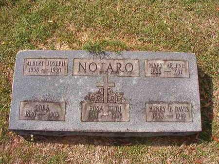 NOTARO, ALBERT JOSEPH - Caddo County, Louisiana | ALBERT JOSEPH NOTARO - Louisiana Gravestone Photos