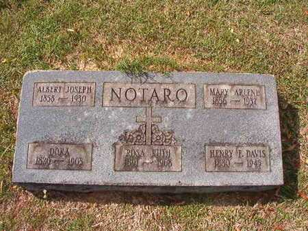 NOTARO, MARY ARLENE - Caddo County, Louisiana | MARY ARLENE NOTARO - Louisiana Gravestone Photos