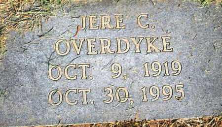 OVERDYKE, JERE C - Caddo County, Louisiana | JERE C OVERDYKE - Louisiana Gravestone Photos