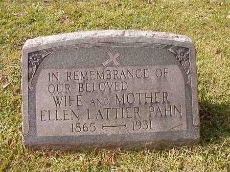 PAHN, ELLEN - Caddo County, Louisiana | ELLEN PAHN - Louisiana Gravestone Photos