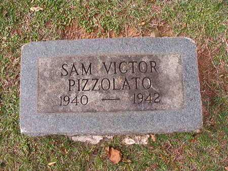 PIZZOLATO, SAM VICTOR - Caddo County, Louisiana   SAM VICTOR PIZZOLATO - Louisiana Gravestone Photos