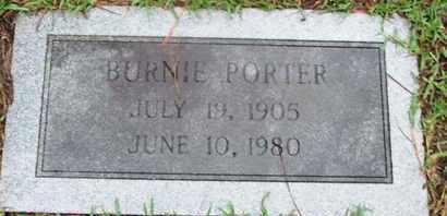 PORTER, BURNIE - Caddo County, Louisiana | BURNIE PORTER - Louisiana Gravestone Photos
