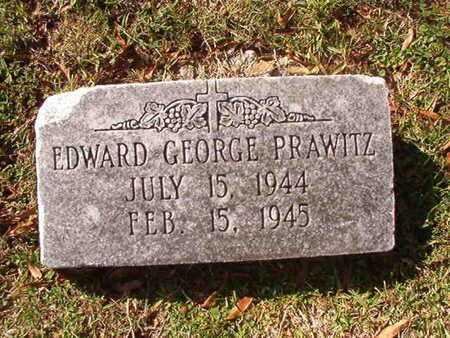 PRAWITZ, EDWARD GEORGE - Caddo County, Louisiana   EDWARD GEORGE PRAWITZ - Louisiana Gravestone Photos