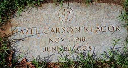 REAGOR, HAZEL - Caddo County, Louisiana | HAZEL REAGOR - Louisiana Gravestone Photos