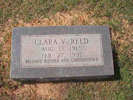 REED, CLARA V - Caddo County, Louisiana | CLARA V REED - Louisiana Gravestone Photos