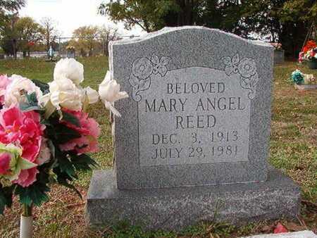 REED, MARY ANGEL - Caddo County, Louisiana | MARY ANGEL REED - Louisiana Gravestone Photos