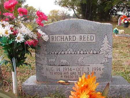 REED, RICHARD - Caddo County, Louisiana | RICHARD REED - Louisiana Gravestone Photos