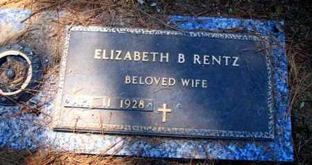 RENTZ, ELIZABETH - Caddo County, Louisiana   ELIZABETH RENTZ - Louisiana Gravestone Photos