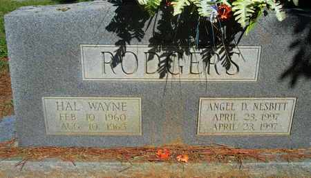 RODGERS, HAL WAYNE - Caddo County, Louisiana | HAL WAYNE RODGERS - Louisiana Gravestone Photos
