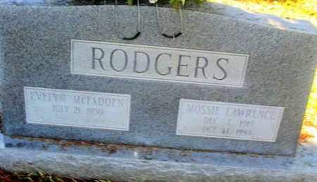 RODGERS, MOSSIE LAWERENCE - Caddo County, Louisiana | MOSSIE LAWERENCE RODGERS - Louisiana Gravestone Photos