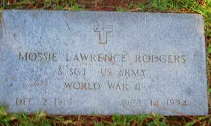 RODGERS, MOSSIE LAWRENCE (VETERAN WWII) - Caddo County, Louisiana | MOSSIE LAWRENCE (VETERAN WWII) RODGERS - Louisiana Gravestone Photos