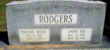 RODGERS, ANNIE LEE - Caddo County, Louisiana | ANNIE LEE RODGERS - Louisiana Gravestone Photos