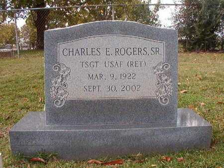 ROGERS, CHARLES E , SR (VETERAN) - Caddo County, Louisiana | CHARLES E , SR (VETERAN) ROGERS - Louisiana Gravestone Photos