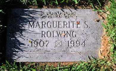 ROLWING, MARGERITE S - Caddo County, Louisiana | MARGERITE S ROLWING - Louisiana Gravestone Photos