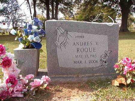 ROQUE, ANDRES V - Caddo County, Louisiana | ANDRES V ROQUE - Louisiana Gravestone Photos