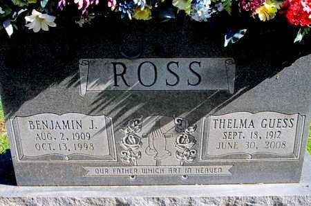 ROSS, BENJAMIN J - Caddo County, Louisiana | BENJAMIN J ROSS - Louisiana Gravestone Photos