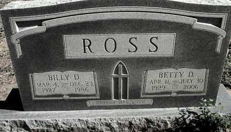 ROSS, BETTY - Caddo County, Louisiana | BETTY ROSS - Louisiana Gravestone Photos