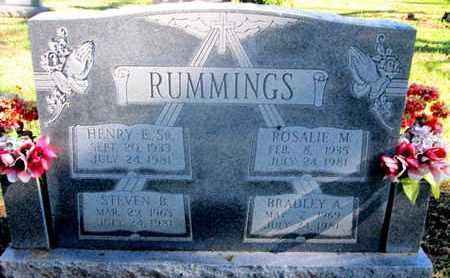 RUMMINGS, HENRY E, SR - Caddo County, Louisiana   HENRY E, SR RUMMINGS - Louisiana Gravestone Photos