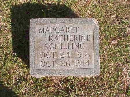 SCHILLING, MARGARET KATHERINE - Caddo County, Louisiana | MARGARET KATHERINE SCHILLING - Louisiana Gravestone Photos