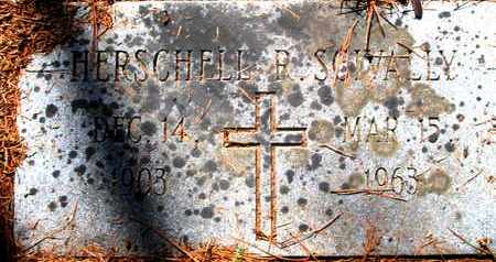 SCIVALLY, HERSHELL R - Caddo County, Louisiana | HERSHELL R SCIVALLY - Louisiana Gravestone Photos