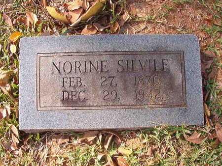 SILVILE, NORINE - Caddo County, Louisiana   NORINE SILVILE - Louisiana Gravestone Photos
