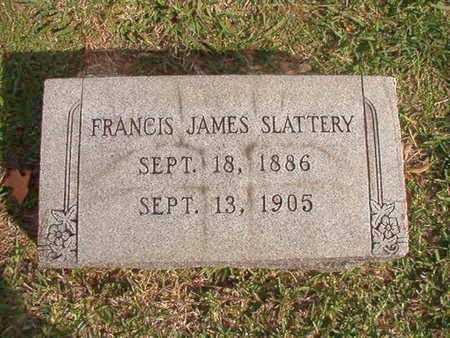 SLATTERY, FRANCI8S JAMES - Caddo County, Louisiana   FRANCI8S JAMES SLATTERY - Louisiana Gravestone Photos