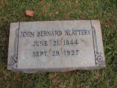 SLATTERY, JOHN BERNARD - Caddo County, Louisiana | JOHN BERNARD SLATTERY - Louisiana Gravestone Photos