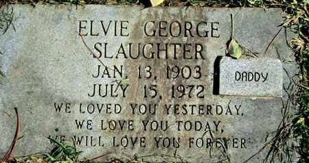 SLAUGHTER, ELVIE GEORGE - Caddo County, Louisiana | ELVIE GEORGE SLAUGHTER - Louisiana Gravestone Photos