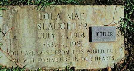 SLAUGHTER, LOLA MAE - Caddo County, Louisiana | LOLA MAE SLAUGHTER - Louisiana Gravestone Photos