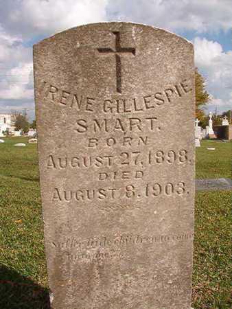 GILLESPIE SMART, IRENE - Caddo County, Louisiana   IRENE GILLESPIE SMART - Louisiana Gravestone Photos