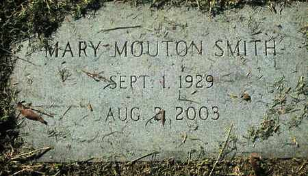 MOUTON SMITH, MARY - Caddo County, Louisiana | MARY MOUTON SMITH - Louisiana Gravestone Photos