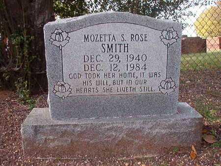 SMITH, MOZETTA S ROSE - Caddo County, Louisiana | MOZETTA S ROSE SMITH - Louisiana Gravestone Photos
