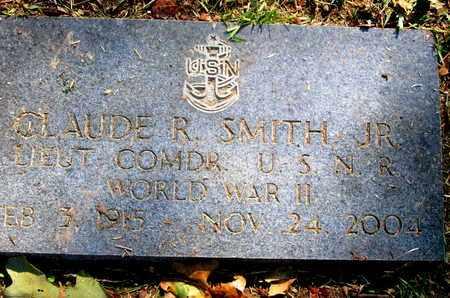 SMITH, CLAUDE R, JR (VETERAN WWII) - Caddo County, Louisiana | CLAUDE R, JR (VETERAN WWII) SMITH - Louisiana Gravestone Photos