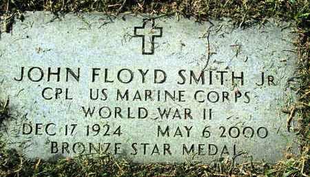 SMITH, JOHN FLOYD, JR (VETERAN WWII) - Caddo County, Louisiana | JOHN FLOYD, JR (VETERAN WWII) SMITH - Louisiana Gravestone Photos