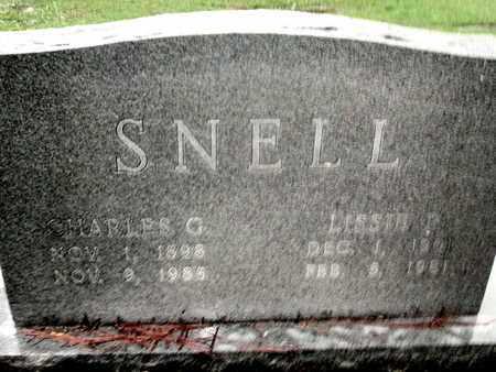 SNELL, CHARLES G - Caddo County, Louisiana   CHARLES G SNELL - Louisiana Gravestone Photos