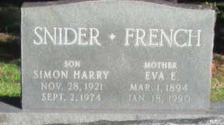 FRENCH, AVA E - Caddo County, Louisiana | AVA E FRENCH - Louisiana Gravestone Photos