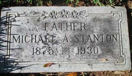 STANTON, MICHAEL A - Caddo County, Louisiana | MICHAEL A STANTON - Louisiana Gravestone Photos