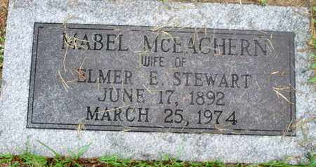 MCEACHERN STEWART, MABEL - Caddo County, Louisiana | MABEL MCEACHERN STEWART - Louisiana Gravestone Photos