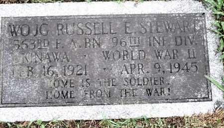 STEWART, RUSSELL E (VETERAN WWII) - Caddo County, Louisiana | RUSSELL E (VETERAN WWII) STEWART - Louisiana Gravestone Photos
