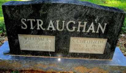 STRAUGHAN, SARAH CHLOTIDE - Caddo County, Louisiana   SARAH CHLOTIDE STRAUGHAN - Louisiana Gravestone Photos