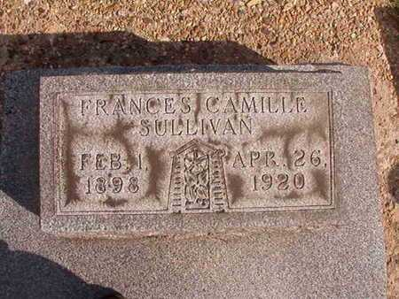 SULLIVAN, FRANCES CAMILLE - Caddo County, Louisiana   FRANCES CAMILLE SULLIVAN - Louisiana Gravestone Photos