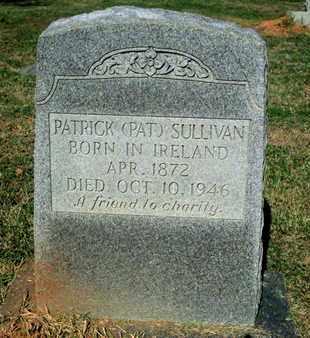 SULLIVAN, PATIICK PAT - Caddo County, Louisiana   PATIICK PAT SULLIVAN - Louisiana Gravestone Photos