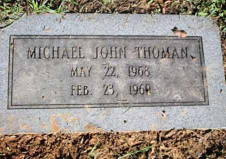 THOMAN, MICHAEL JOHN - Caddo County, Louisiana | MICHAEL JOHN THOMAN - Louisiana Gravestone Photos