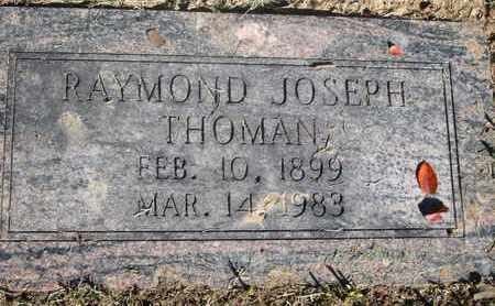 THOMAN, RAYMOND JOSEPH - Caddo County, Louisiana | RAYMOND JOSEPH THOMAN - Louisiana Gravestone Photos