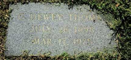 THOMAS, G DEWEY - Caddo County, Louisiana   G DEWEY THOMAS - Louisiana Gravestone Photos
