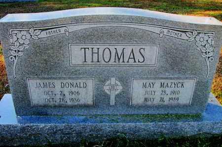 THOMAS, MAY - Caddo County, Louisiana | MAY THOMAS - Louisiana Gravestone Photos