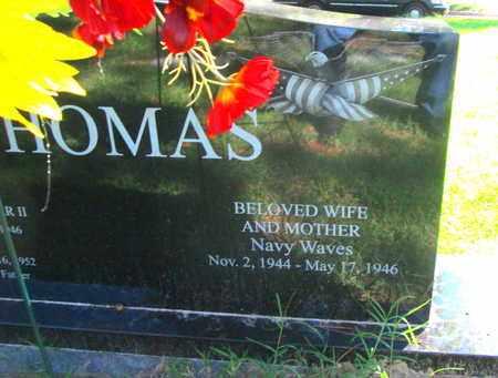 THOMAS, NAN  (VETERAN WWII) - Caddo County, Louisiana | NAN  (VETERAN WWII) THOMAS - Louisiana Gravestone Photos