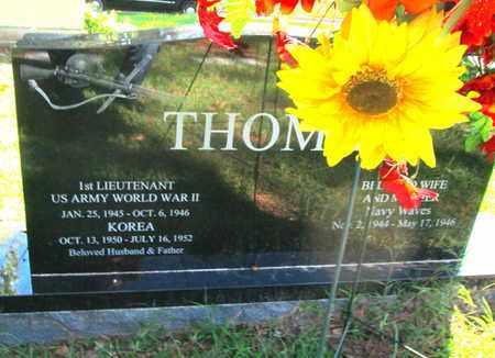 THOMAS, WYATT HUGH (VETERAN 2 WARS) - Caddo County, Louisiana | WYATT HUGH (VETERAN 2 WARS) THOMAS - Louisiana Gravestone Photos